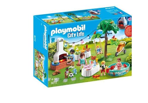 Playmobil Famille et barbecue estival