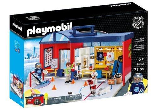 Playmobil Aréna de Hockey LNH Transportable