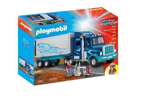 Playmobil Camion avec remorque