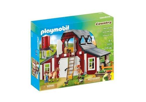 Playmobil Ferme avec silo