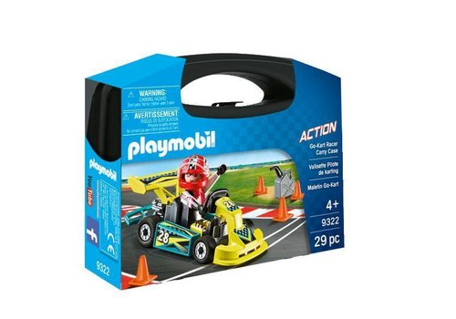 Playmobil Mallette Pilote de karting