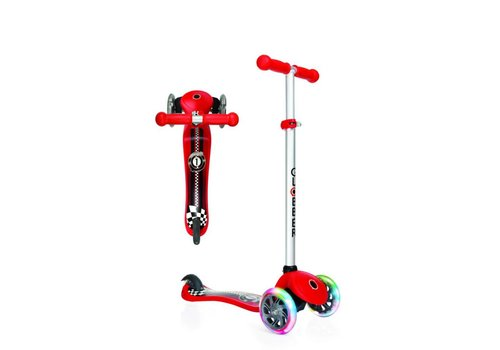 Globber Globber Primo Fantasy Scooter - Racing Red