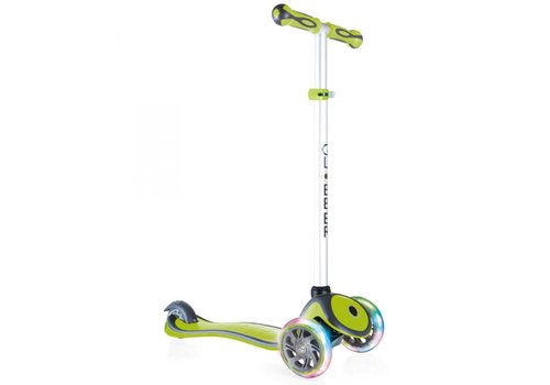 Globber Globber Primo Plus with Lights - Lime Green