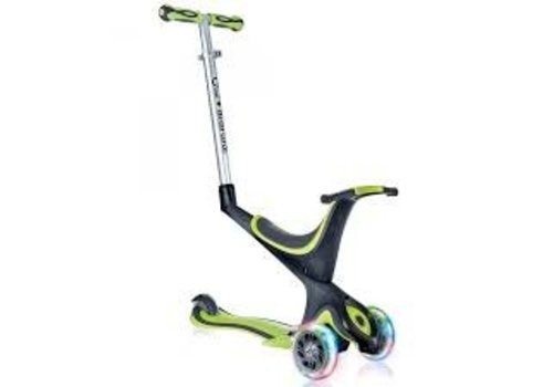 Globber Globber Evo Comfort w/lights -Lime Green