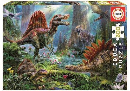 Casse-tête 300 pièces dinosaures