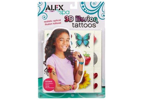 Alex Alex Toys Spa 3D Illusion Tattoos