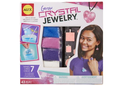 Alex ALEX Toys DIY Wear Grow Crystal Jewelry
