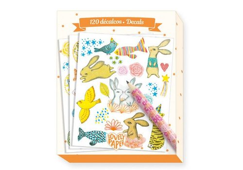 Lovely Paper Decals / Elodie