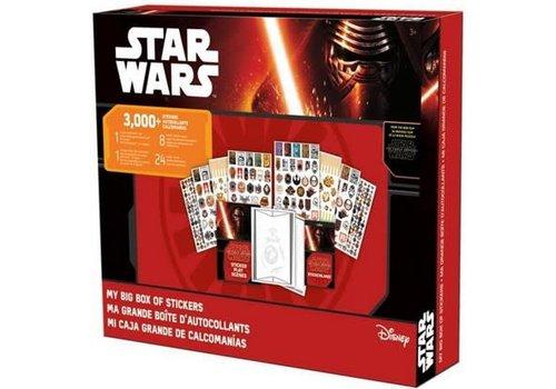 Ma grande boîte d'autocollants Star Wars