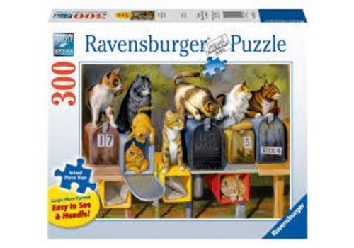 Ravensburger Courrier reçu de chats