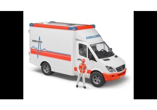 Bruder MS sprinter ambulance with dreiver