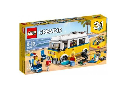 Lego Creator Le van des surfers