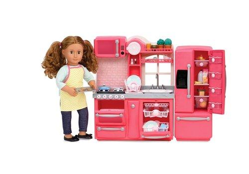 Our generation Ens. cuisine gourmet pour poupée OG