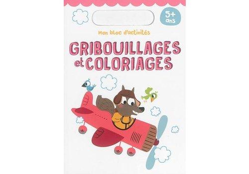 edition yoyo Mon bloc d'activité - Gribouillages et coloriages