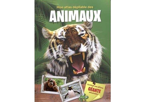 edition yoyo Mon atlas dépliable des animaux