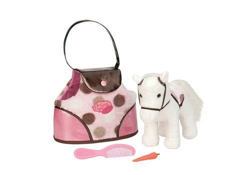 Battat / B brand Pucci Pup Poney et sac de transport à pois