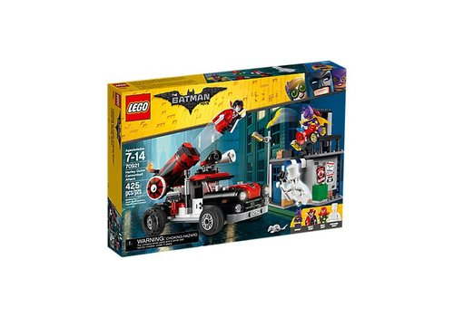 Lego Batman Movie L'attaque boulet de ca d'Harley Quinn