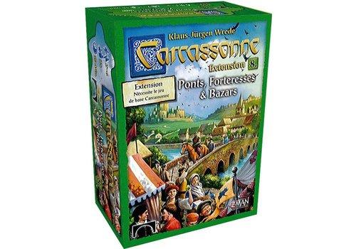 z-man games Carcassonne ext. Ponts, forteresse et bazars