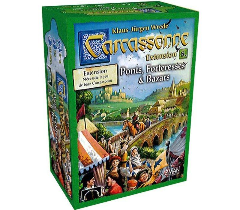 Carcassonne ext. Ponts, forteresse et bazars