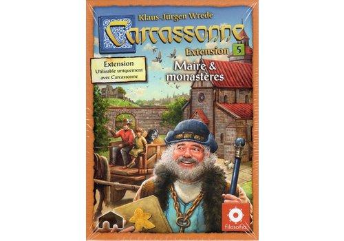z-man games Carcassonne ext. Maire et Monasteres