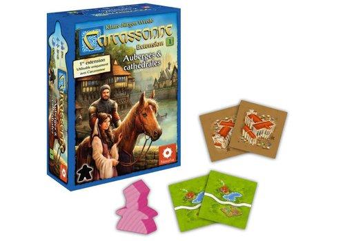 z-man games Carcassonne ext. Auberges et cathédrales