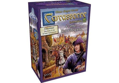 z-man games Carcassonne ext. Compte, roi et brigand