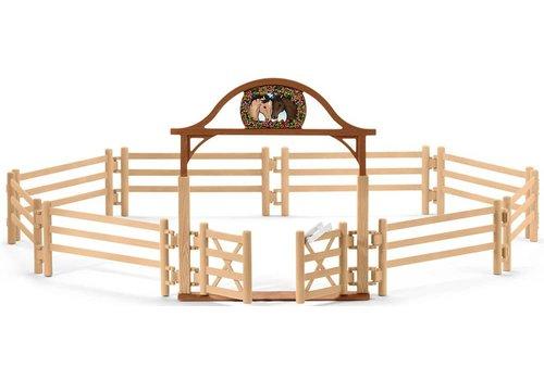 Schleich Manège pour chevaux avec portail