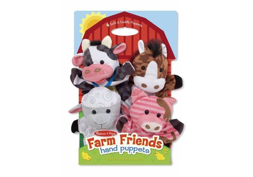 Melissa & Doug Melissa & Doug Farm Friends Hand Puppets (Set of 4)