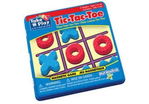 playmonster Magnetic Tic Tac Toe