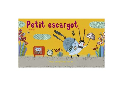 le rouergue Petit escargot Mes comptines en or