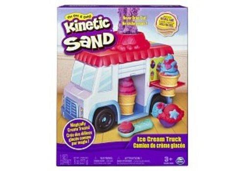 Kinetic Sand Camion de Crème Glacée