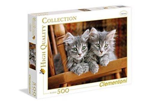 Clementoni Casse-tête 500 morceaux - Chatons