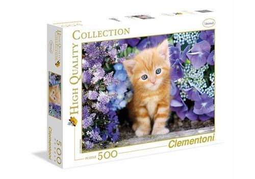 Clementoni Chat dans les fleurs
