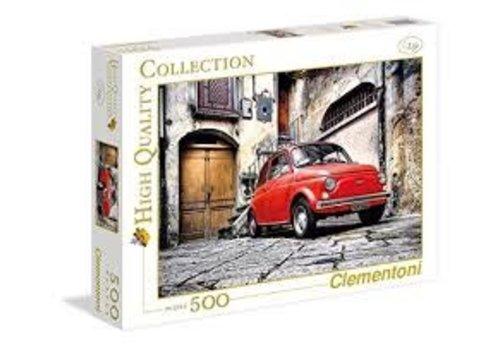 Clementoni Casse-tête 500 morceaux - Voiture rouge