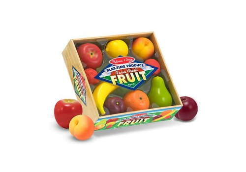Melissa & Doug Fruits de jeu - Play-Time Produce Farm Fresh Fruit