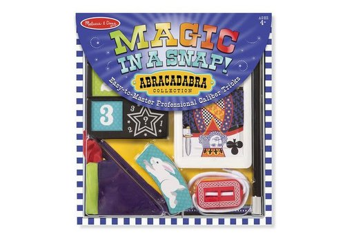 Melissa & Doug Magic in a Snap ! Abracadabra Collection