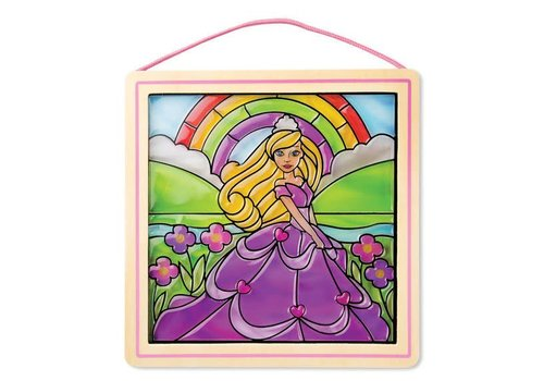 Melissa & Doug Stained Glass Princess