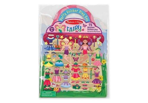 Melissa & Doug Reusable Puffy Stickers - Fairies