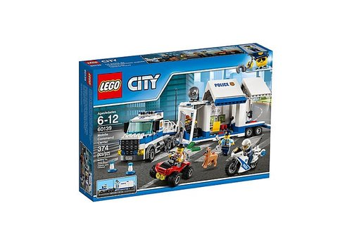 Lego CITY Le poste de commandement mobile