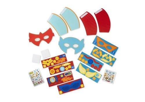 Melissa & Doug Superhero Masks & Cuffs