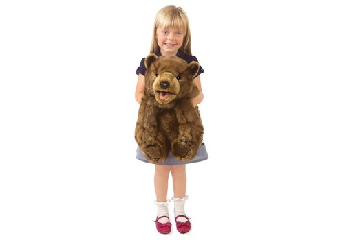 folkmanis Bear Brown cub 22''