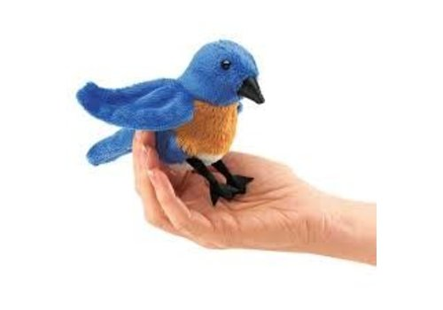 folkmanis Mini oiseau Bleu
