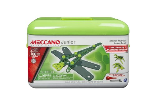 Meccano Jr Insectes / Auto de course ass