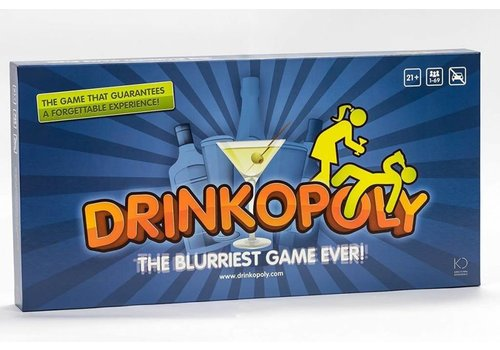 Drinkopololy : The blurriest Game Ever