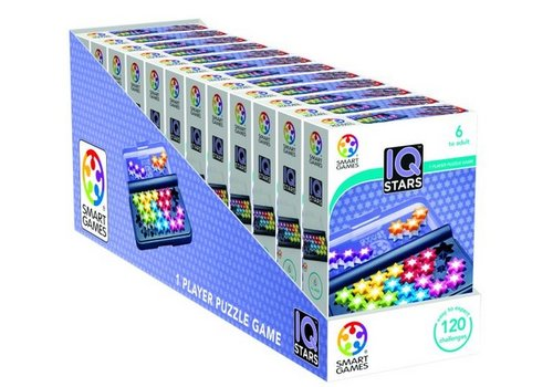 Smart Games DISP-12:IQ STARS (MULT.)