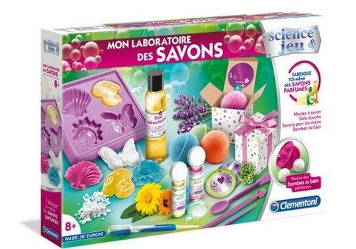 Clementoni Mon laboratoire de savons