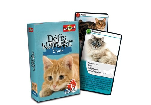 Bioviva Défis nature / chats