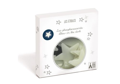 Little Big Room Phosphorescents decorations / Stars