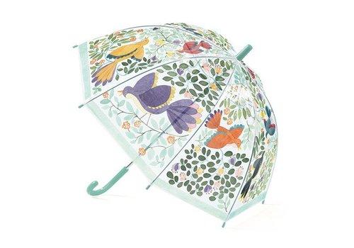 Parapluie / Fleurs et oiseaux