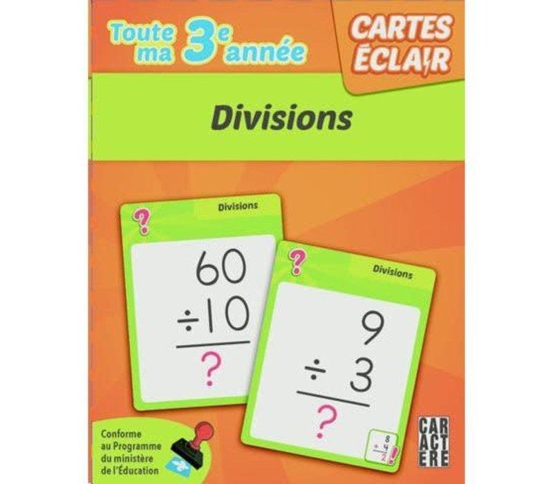 3e année  - divisions